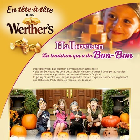 Newsletter de Werther's Original et un peu plus...