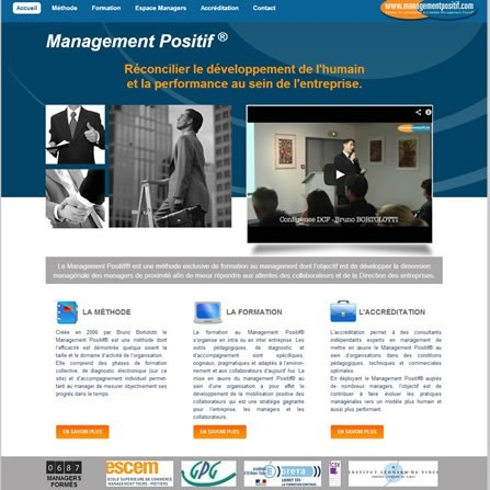 Intranet pour consultant en formation de management